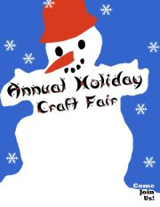 Churchill Alternative School Annual Holiday Craft Fair!