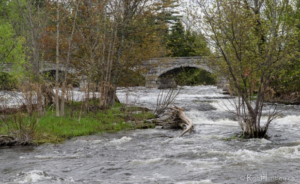 Five-Span Stone Bridge in Pakenham, Ontario