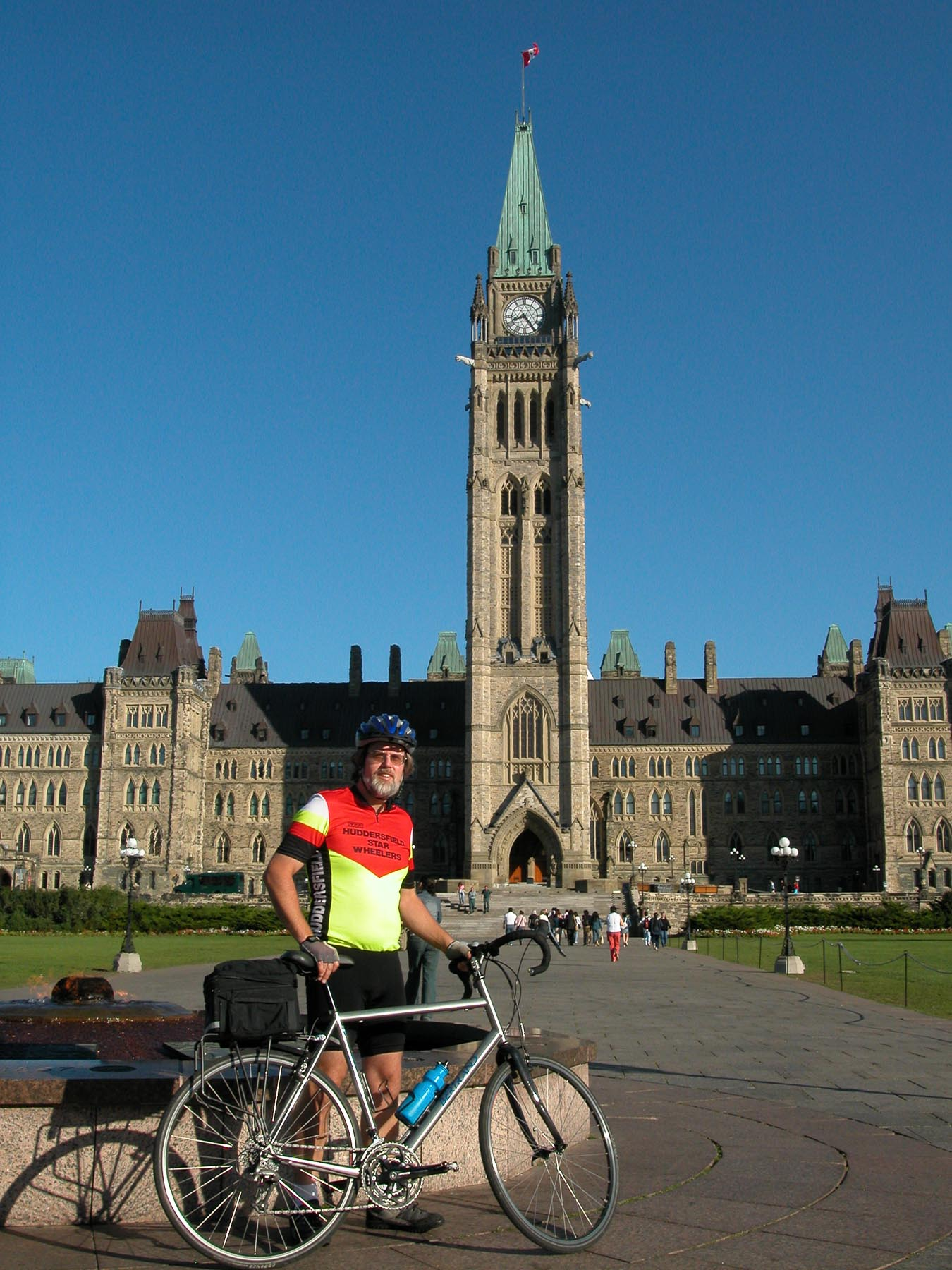 Sponsor my ride to support Parkinson's Disease Research.